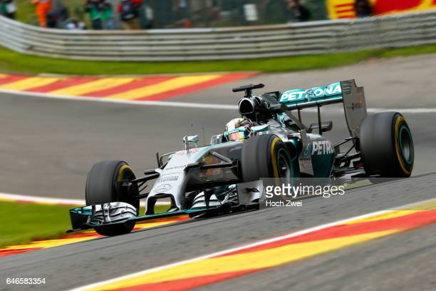 FIA Formula One World Championship 2014 Grand Prix of Belgium #44 Lewis Hamilton