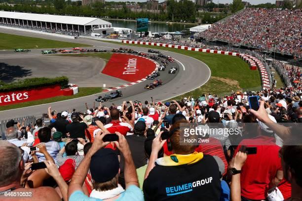 FIA Formula One World Championship 2014 Grand Prix of Canada #6 Nico Rosberg #1 Sebastian Vettel #44 Lewis Hamilton
