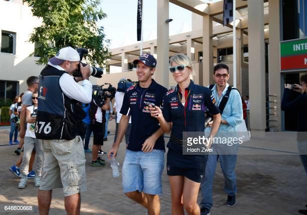 FIA Formula One World Championship 2014 Grand Prix of Abu Dhabi #1 Sebastian Vettel Britta Roeske