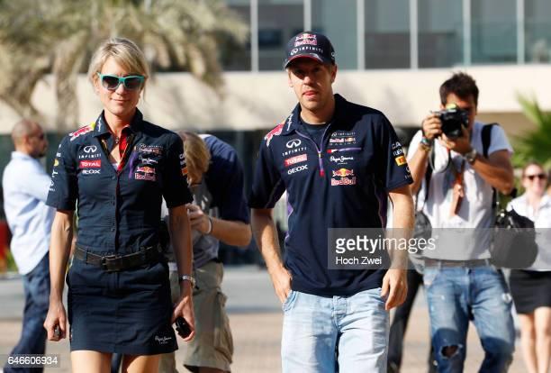 Formula One World Championship 2014, Grand Prix of Abu Dhabi, Britta Roeske , #1 Sebastian Vettel ,