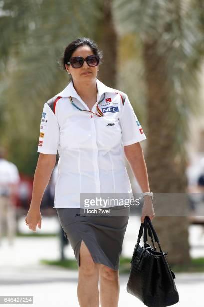FIA Formula One World Championship 2014 Grand Prix of Bahrain Monisha Kaltenborn