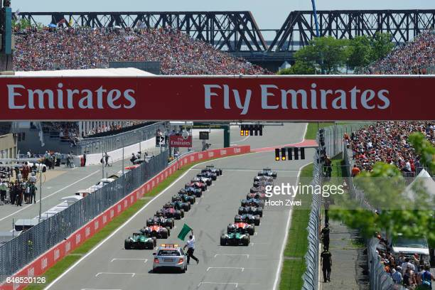 FIA Formula One World Championship 2014 Grand Prix of Canada starting grid