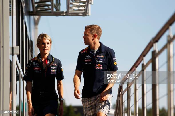 FIA Formula One World Championship 2014 Grand Prix of Germany Britta Roeske #1 Sebastian Vettel