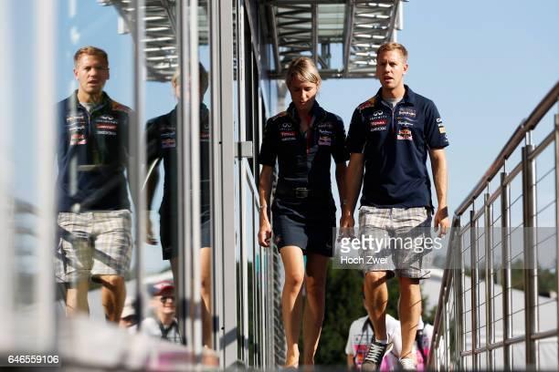 Formula One World Championship 2014, Grand Prix of Germany, Britta Roeske , #1 Sebastian Vettel ,