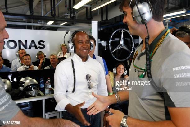 FIA Formula One World Championship 2014 Grand Prix of Italy Anthony Hamilton father of#44 Lewis Hamilton