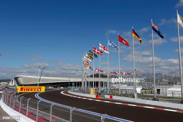 FIA Formula One World Championship 2014 Grand Prix of Russia Circuit Sochi Autodrom general view