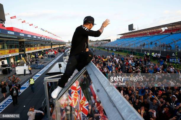 FIA Formula One World Championship 2015 Grand Prix of Australia #44 Lewis Hamilton