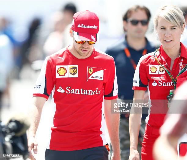 FIA Formula One World Championship 2015 Grand Prix of Canada #5 Sebastian Vettel Britta Roeske