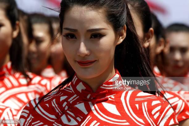FIA Formula One World Championship 2015 Grand Prix of China grid girls