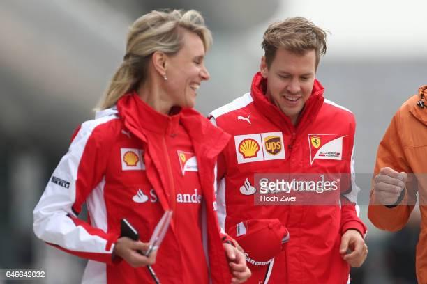 Formula One World Championship 2015, Grand Prix of China, Britta Roeske , #5 Sebastian Vettel ,