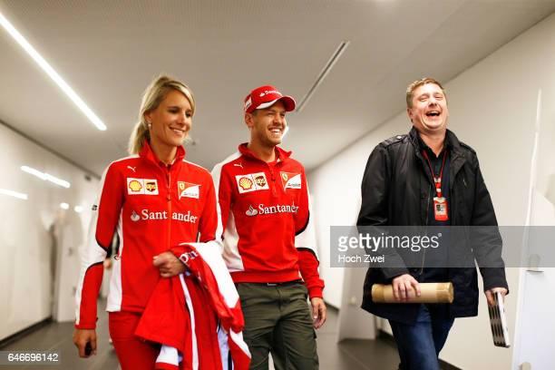Formula One World Championship 2015, Grand Prix of Austria, Britta Roeske , #5 Sebastian Vettel ,