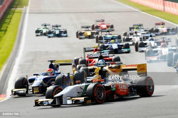 GP2 Series 2014 Grand Prix of Belgium #11 Daniel Abt Start