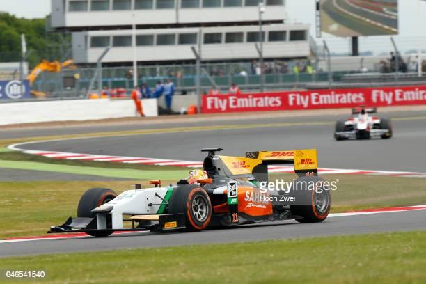 GP2 Series 2014 Grand Prix of Great Britain #11 Daniel Abt