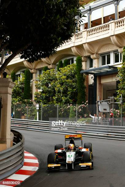 GP2 Series 2014 Grand Prix of Monaco #11 Daniel Abt