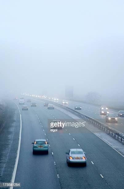 M56 Motorway Fog