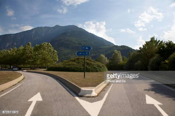motorway parking