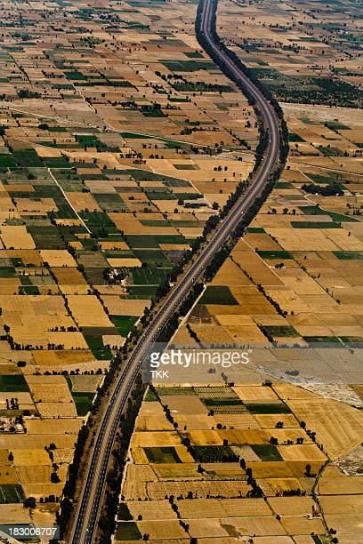 motorway - punjab pakistan stock photos and pictures
