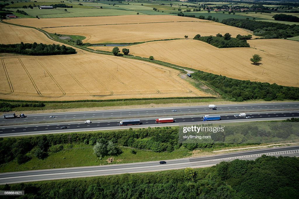 A1 Motorway : Stock Photo