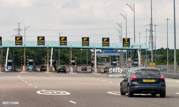 Motorway Toll approach on British Motorway