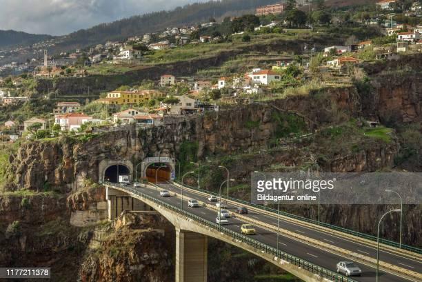 Motorway VR 1, Funchal, Madeira, Portugal, Autobahn VR 1.