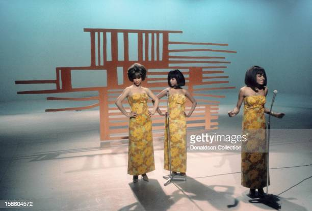Motown group The Supremes perform on the NBC TV music show 'Hullabaloo' in May 11 in New York City New York