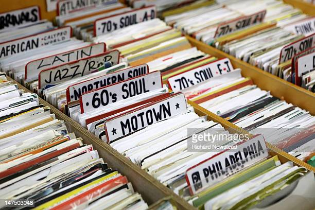 motown, latin and jazz records - number 60 stock photos and pictures