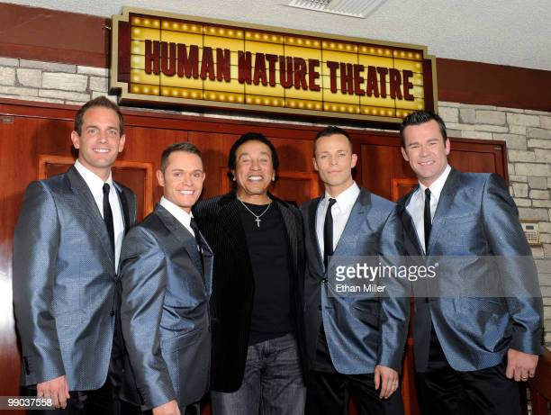 Motown legend Smokey Robinson and Australian vocal group Human Nature Toby Allen Michael Tierney Andrew Tierney and Phil Burton announce a twoyear...