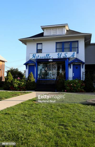 Motown Museum original home of Motown Records in Detroit Michigan on October 13 2017