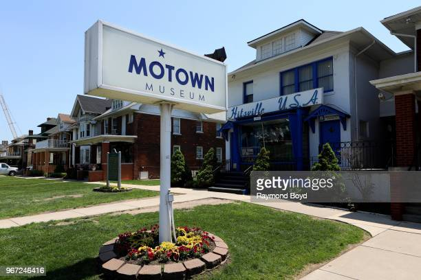 Motown Museum original home of Motown Records in Detroit Michigan on May 24 2018