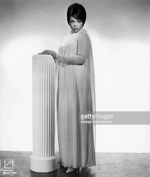 Motown recording star Tammi Terrell poses for a portrait circa 1966 in New York City, New York.