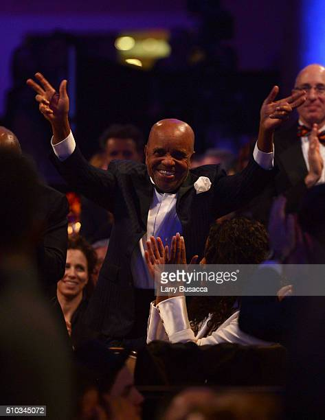 Motown Records founder Berry Gordy attends the 2016 PreGRAMMY Gala and Salute to Industry Icons honoring Irving Azoff at The Beverly Hilton Hotel on...