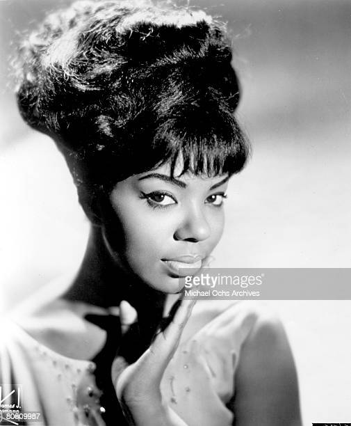 Motown singer Mary Wells poses for a portrait circa 1963 in New York City New York