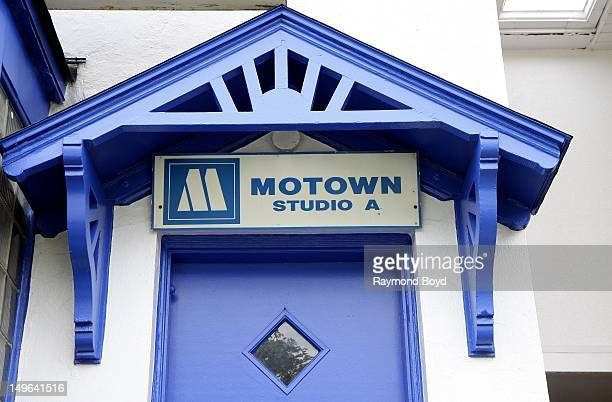 Motown Studio A at Hitsville USA original home of Motown Records in Detroit Michigan on JULY 22 2012