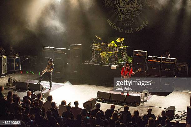 Motörhead performs live onstage at Murat Theatre on September 9 2015 in Indianapolis Indiana