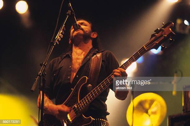 Motörhead voc Lemmy Kilmister at the With Full Force Festival