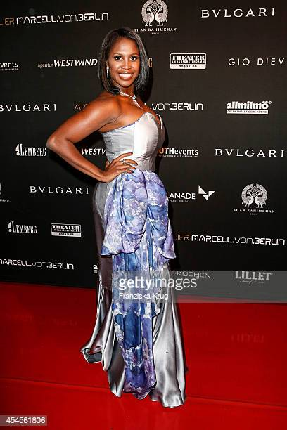 Motsi Mabuse attends the Blurry Garden Couture Collection Presentation in a nuclear bunker on September 03 2014 in Berlin Germany