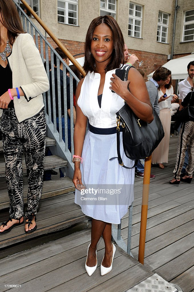 Motsi Mabuse attends the Gala Fashion Brunch at Ellington Hotel on July 5, 2013 in Berlin, Germany.