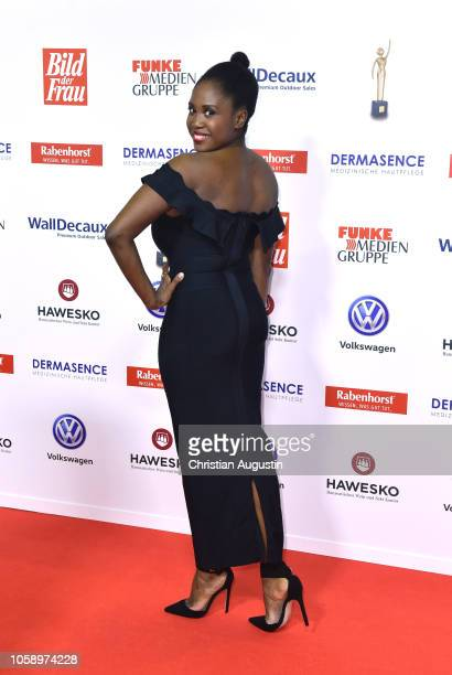 Motsi Mabuse attends the 'Goldene Bild der Frau' award at Stage Operettenhaus on November 7 2018 in Hamburg Germany