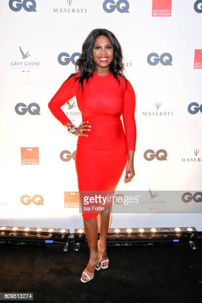 Motsi Mabuse attends the GQ Mension Style Party 2017 at Austernbank on July 5 2017 in Berlin Germany