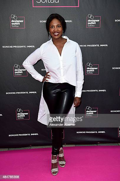 Motsi Mabuse attends the Late Night Shopping at Designer Outlet Soltau on August 21 2015 in Soltau Germany