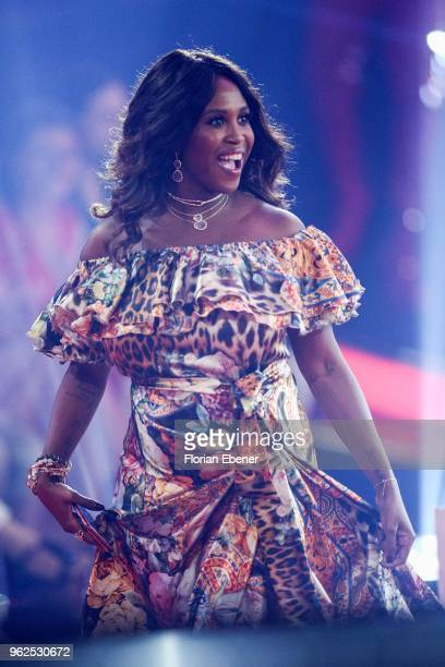 Motsi Mabuse during the 10th show of the 11th season of the television competition 'Let's Dance' on May 25 2018 in Cologne Germany
