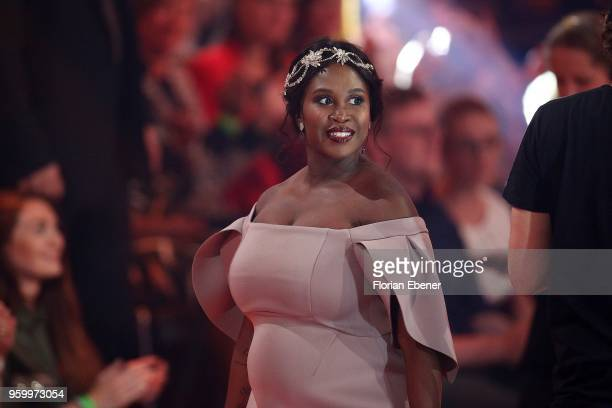 Motsi Mabuse during the 9th show of the 11th season of the television competition 'Let's Dance' on May 18 2018 in Cologne Germany