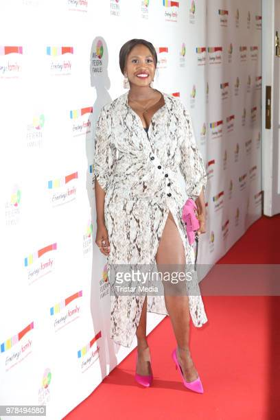 Motsi Mabuse during the Ernsting's Family Fashion event on June 18, 2018 in Hamburg, Germany.