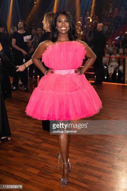 """Motsi Mabuse is seen during the 10th show of the 12th season of the television competition """"Let's Dance"""" on May 31, 2019 in Cologne, Germany."""