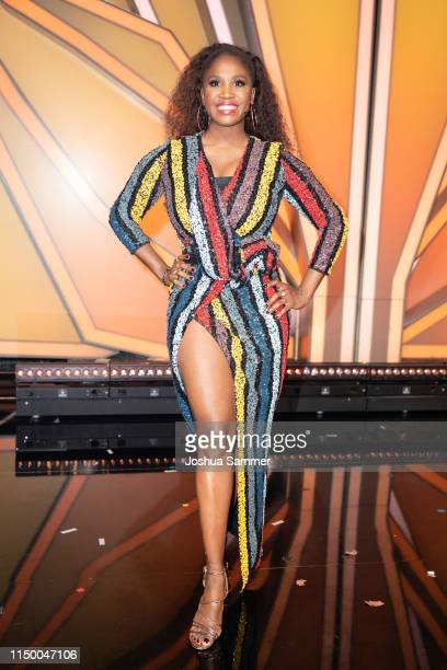 """Motsi Mabuse is seen during the 8th show of the 12th season of the television competition """"Let's Dance"""" on May 17, 2019 in Cologne, Germany."""