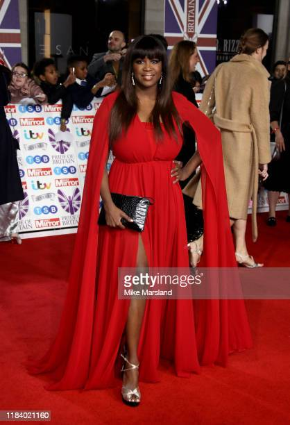 Motsi Mabussi attends Pride Of Britain Awards 2019 at The Grosvenor House Hotel on October 28 2019 in London England