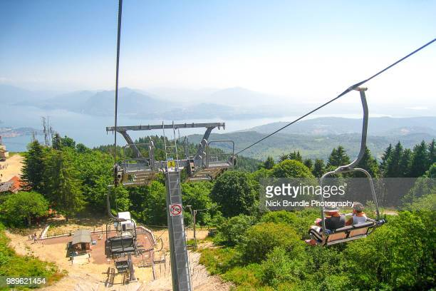 Mottarone cable car - Lake Maggiore, Stresa, Italy.