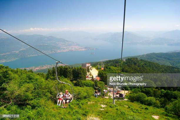 Mottarone cable car - Lake Maggiore, Stresa, Italy, Stresa