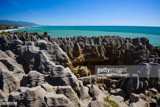 Motukiekie Beach and Greymouth - New Zealand