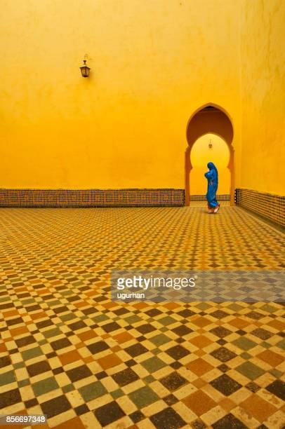 Moulay Ismail mausoleum in Morocco